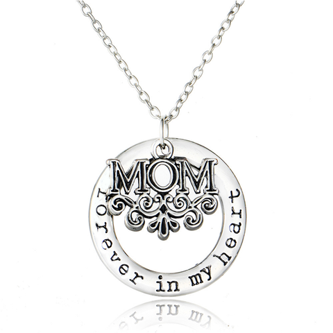 Mom Forever Pendant Necklace
