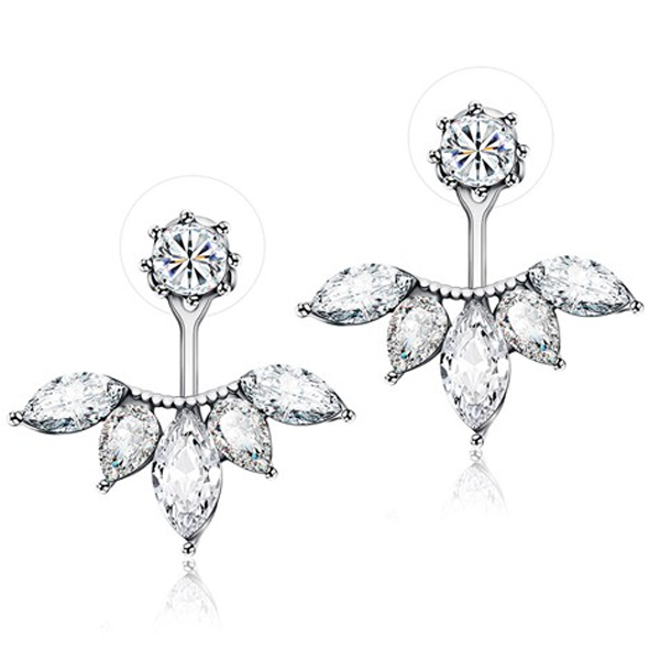 Exquisite Leaf Stud Earrings - Florence Scovel - 1