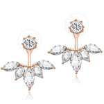 Exquisite Leaf Stud Earrings - Florence Scovel - 2