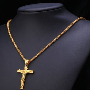 Stainless Steel Cross Pendant