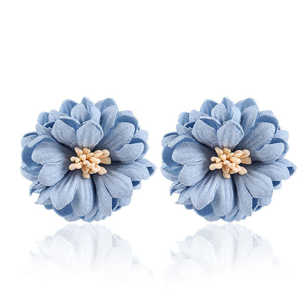 European Classic Flower Earrings