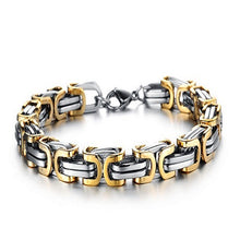 Luxury Personalized Man Bracelet New Cool Gold/Silver Stainless Steel - Florence Scovel - 2