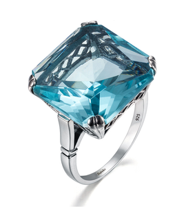 Markle Aquamarine Ring