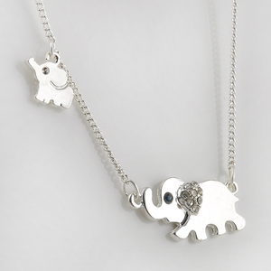 Save the Elephants Necklace - Florence Scovel - 5