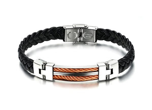 Strong Rope Stainless Steel Men's Bracelet - Florence Scovel - 2