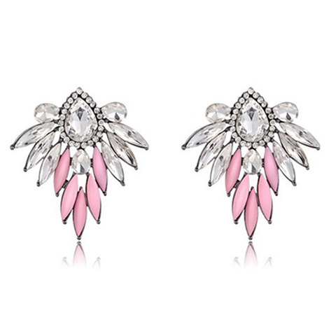 Pink Angel Stud Earrings - Florence Scovel