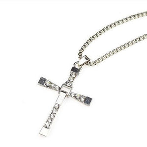 Cross Crystal Necklace - Ashley Jewels - 3