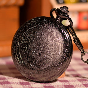 Classic Black Pocket Watch - Florence Scovel - 4