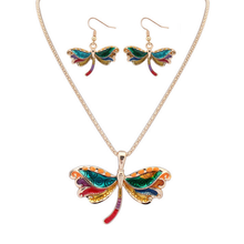 Butterfly Hippie Pendant Set