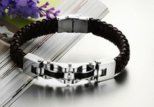 Armageddon Wing Men's Stainless Steel Bracelet (Brown) - Florence Scovel - 7