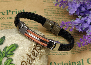 Strong Rope Stainless Steel Men's Bracelet - Florence Scovel - 3