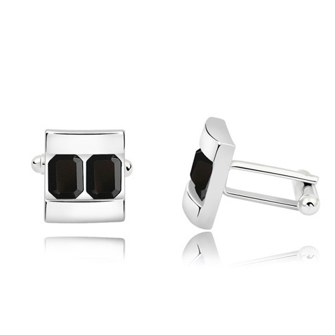 Two Platinum Cufflink - Florence Scovel