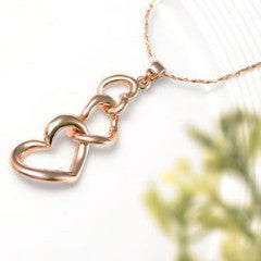 3 Heart Necklace - Florence Scovel