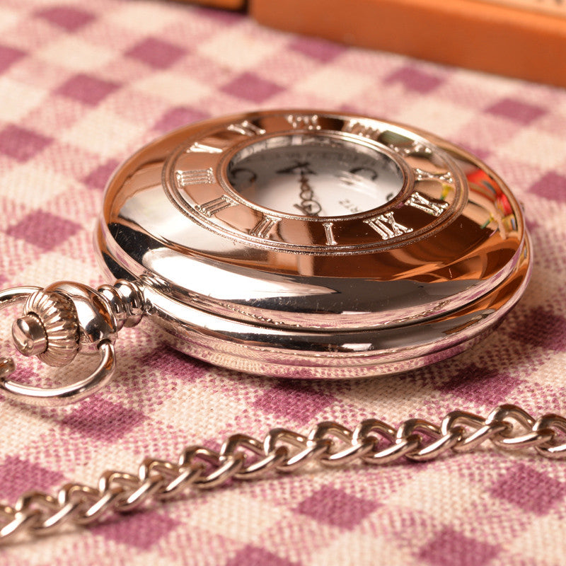 Elegant Silver Pocket Watch - Florence Scovel - 2