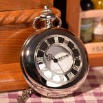 Elegant Silver Pocket Watch - Florence Scovel - 1