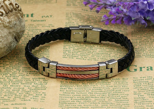 Strong Rope Stainless Steel Men's Bracelet - Florence Scovel - 4