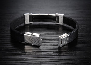 Cross T Men's Stainless Steel Bracelet - Florence Scovel - 5