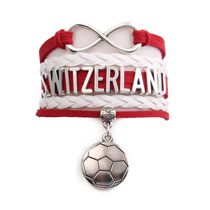 Team Switzerland Boho Vintage Bracelet