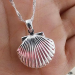 Open Shell Locket Pendant