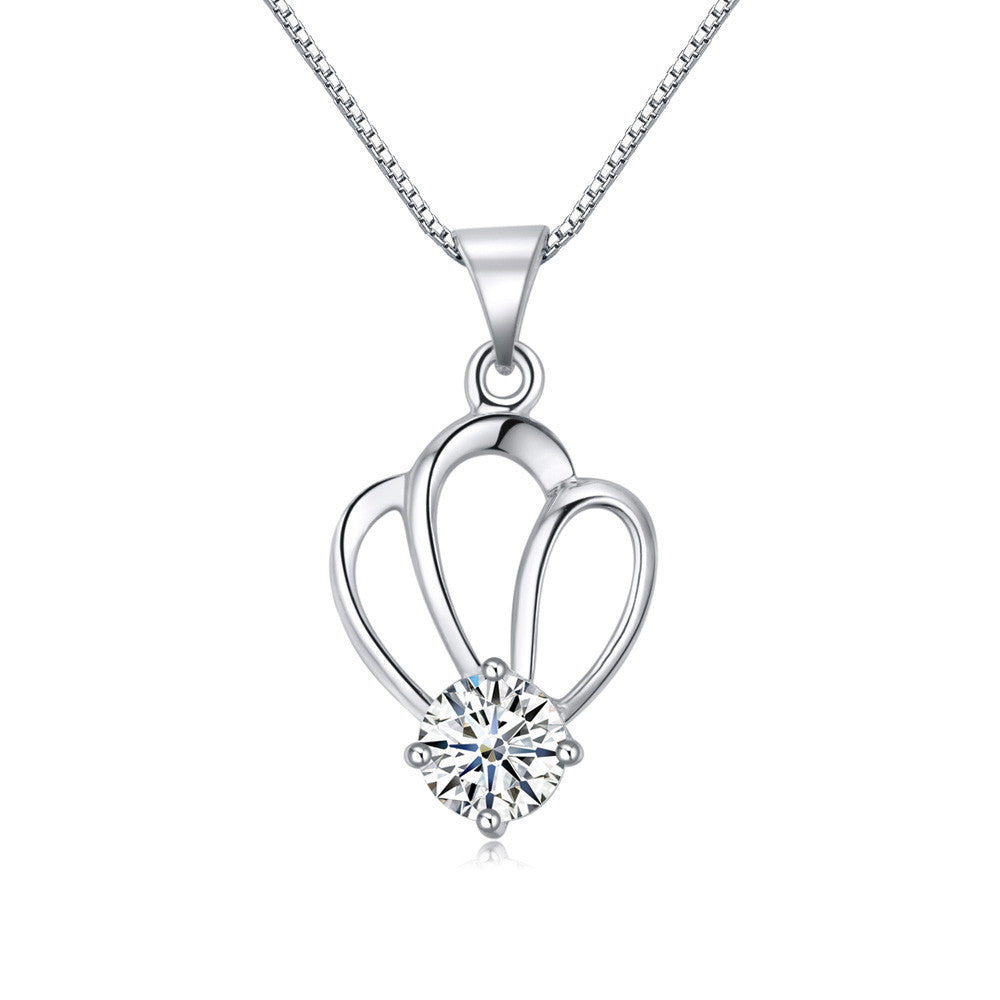 Crown Silver Pendant - Florence Scovel - 1