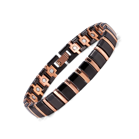 Black Ceramic Magnetic Bracelet