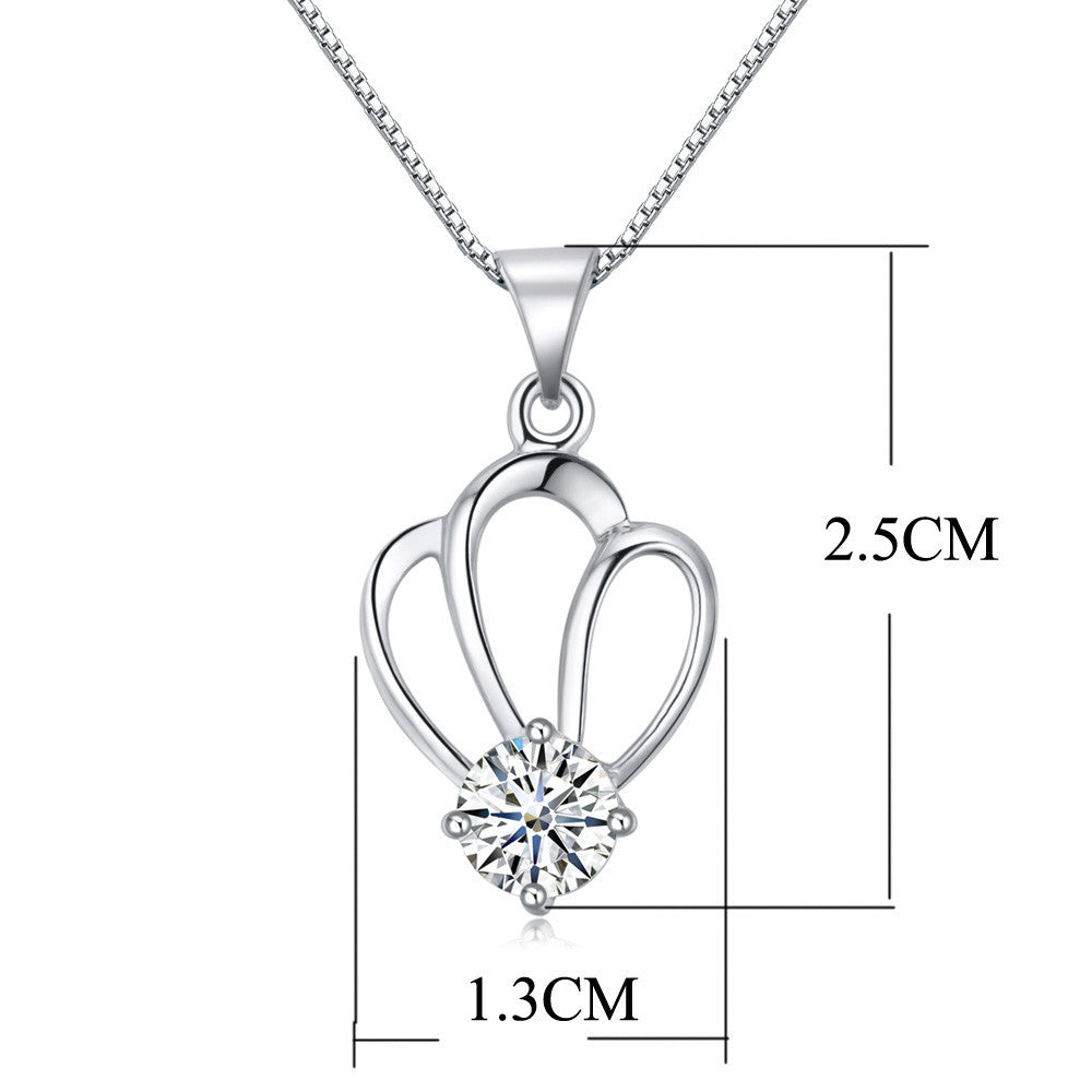 Crown Silver Pendant - Florence Scovel - 2