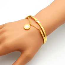 Roman Numerals Lucky Lovers Bracelet