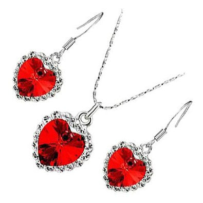 Love Crystal Heart Set - Florence Scovel - 1