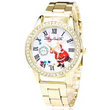 Santa Claus Quartz Steel Watch