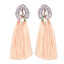 Wedding Long Tassel Earrings