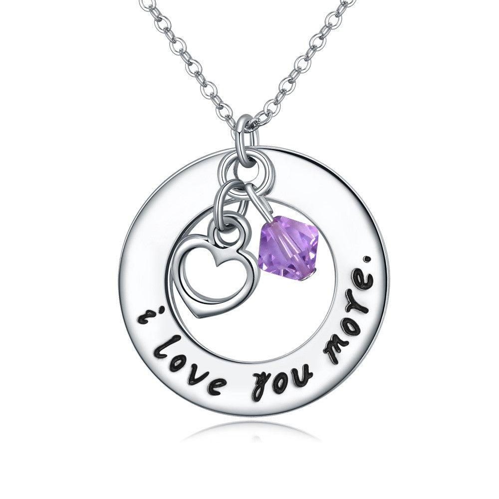 I love you more( Purple Crystal) - Florence Scovel