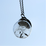 Natural Dandelion Seeds Wish Pendant - Florence Scovel - 4