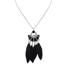 Feather Bohemia Handmade Choker Necklace