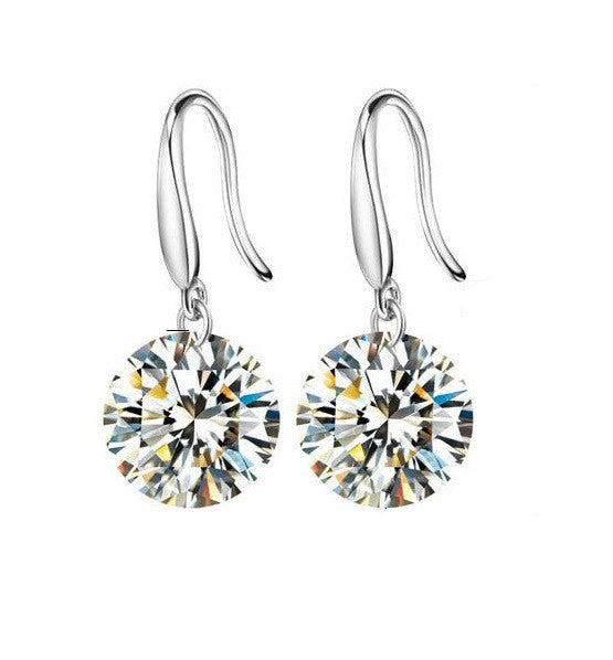 Crystal Earrings - 8mm - Florence Scovel