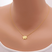 Geometric Origami Elephant Necklace - Florence Scovel - 3