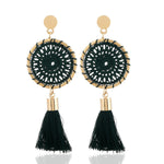 Dream Catcher Tassel Earring