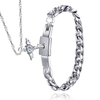 Angel Love Pendant & Men's Bracelet Set - Florence Scovel - 3
