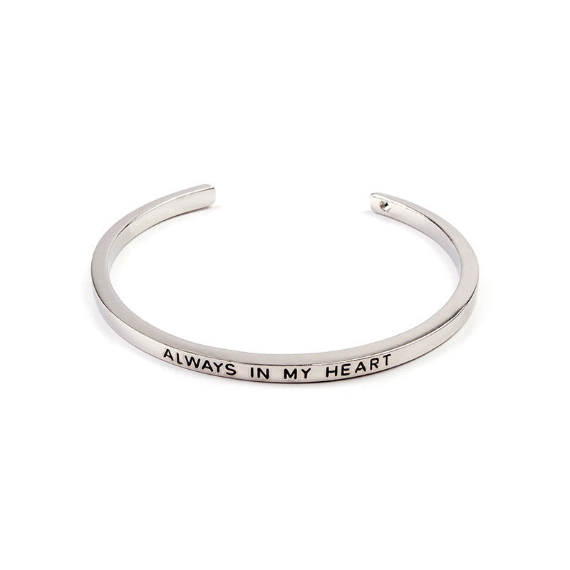 Always In My Heart Cuff Bangle - Florence Scovel - 3
