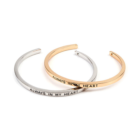 Always In My Heart Cuff Bangle - Florence Scovel - 1