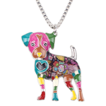 Jack Russel Dog Pendant Necklace - Florence Scovel