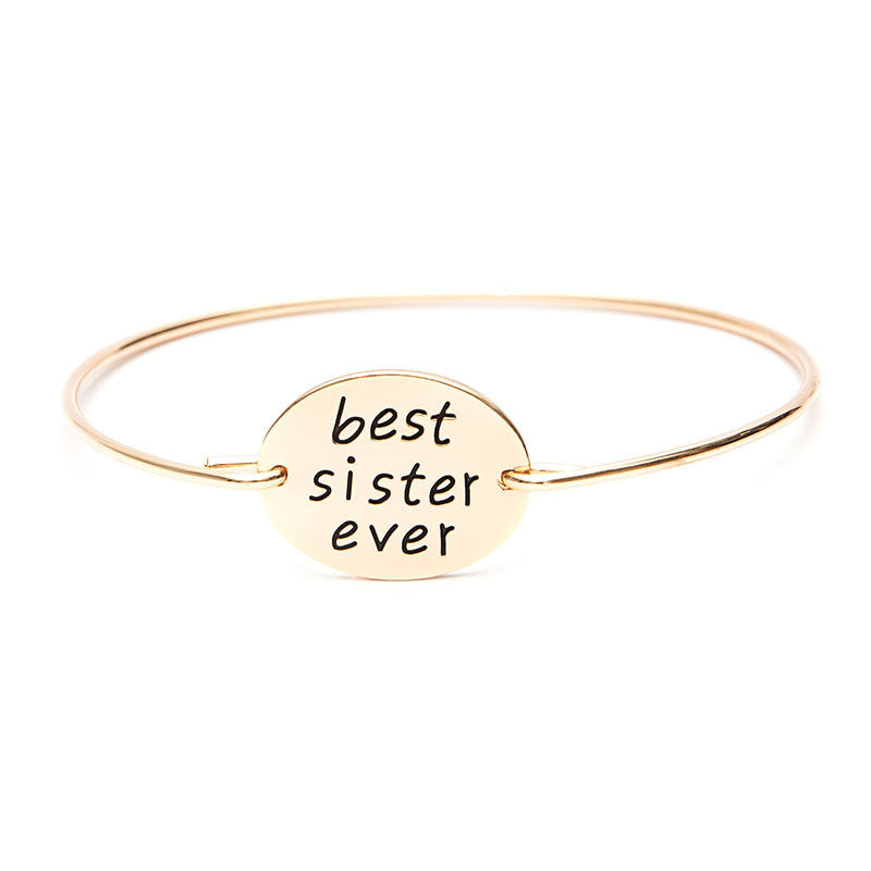Best Sister Ever Bangle - Florence Scovel - 4