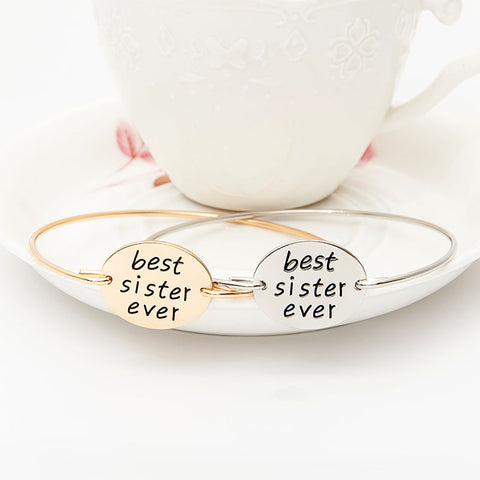 Best Sister Ever Bangle - Florence Scovel - 1