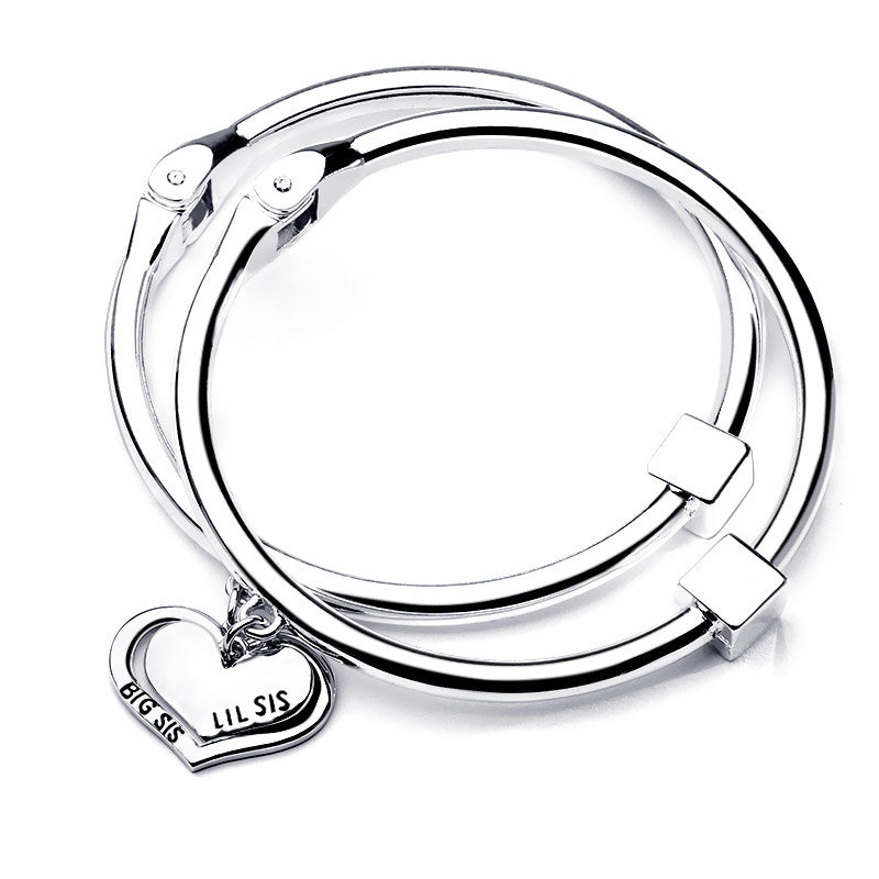 Big Sis Lil Sis Charm Bangle Set - Florence Scovel - 1