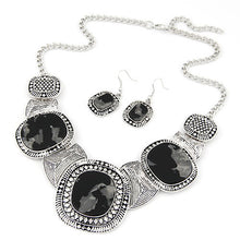 Rhinestone Statement Necklace Set - Florence Scovel - 3
