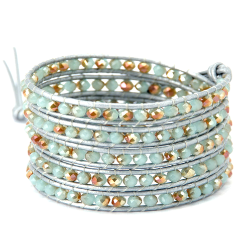 Calm Sea Wrap Bracelet - Florence Scovel - 1