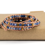Blue Mountain Wrap Bracelet - Florence Scovel - 3