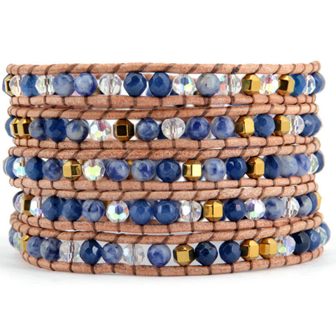 Blue Mountain Wrap Bracelet - Florence Scovel - 1