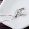 Pure and Fresh Pearl Heart Pendant - Florence Scovel - 3
