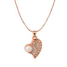 Pure and Fresh Pearl Heart Pendant - Florence Scovel - 4