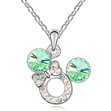 Florence Crystal Bow Necklace - Florence Scovel - 3